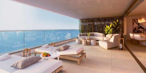 LUXURY PENTHOUSE- NEWLY BUILT-MALAGA TOWERS